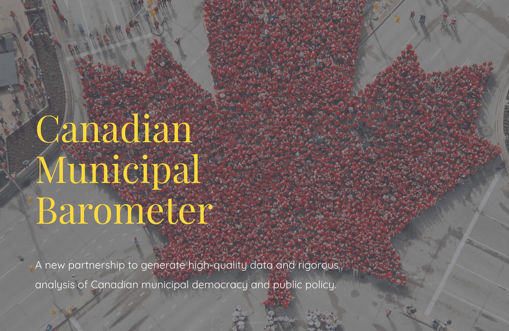 Canadian Municipal Barometer